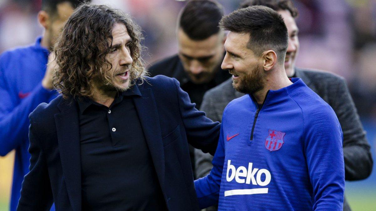Carles Puyol: Messi tarihin gördüğü en iyi oyuncu
