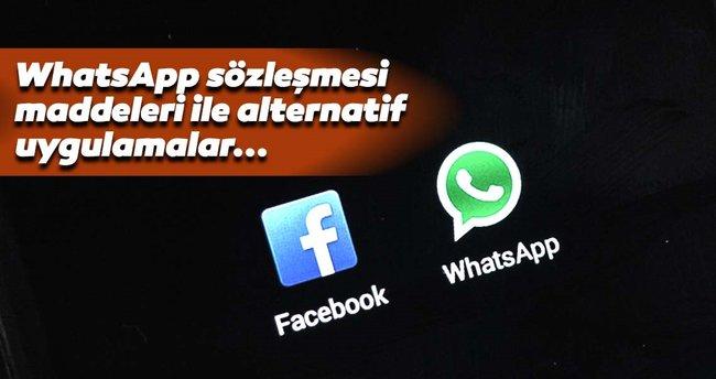 Whatsapp sözleşmesi nasıl iptal edilir? Whatsapp yerine ne kullanılır?