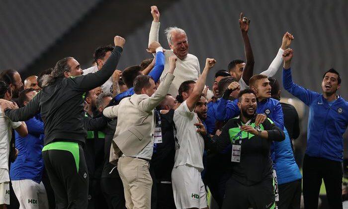 Spor Toto Süper Lig'e yükselen son takım Altınordu'yu yenen Altay oldu