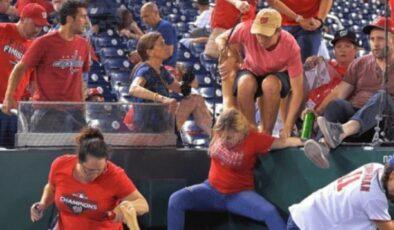 Beyzbol maçı sırasında silahlı saldırı! Seyirciler apar topar stadyumu boşalttı