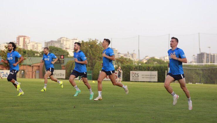Fenerbahçe antrenmanında yıldız detayı